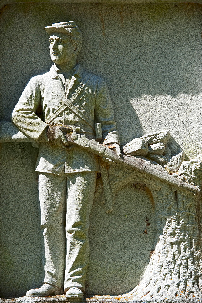 Statue of a union soldier at Vicksburg National Military Park
