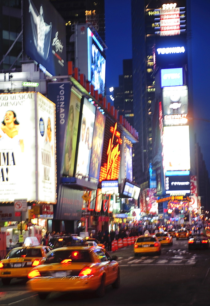 A street scene in New York