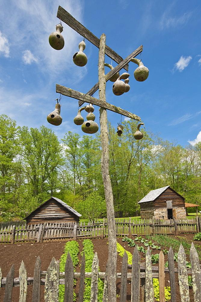 Birdhouses at Smoky Mountain National Park