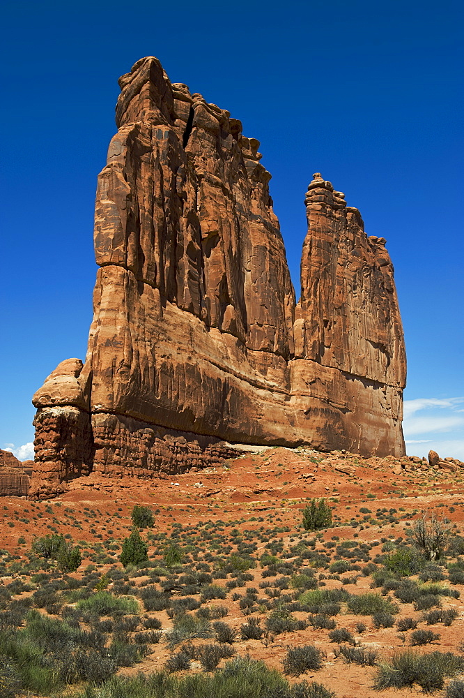 Courthouse Towers of Arches National Park, Utah