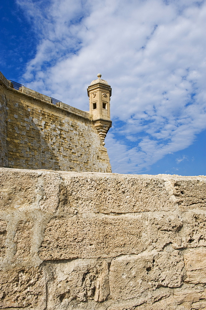 Senglea Point parapet, Valleta, Malta