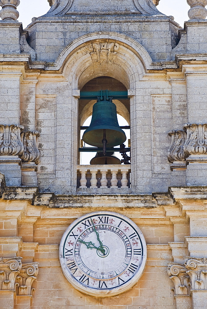 Bell tower of Mdina Cathedral, Malta