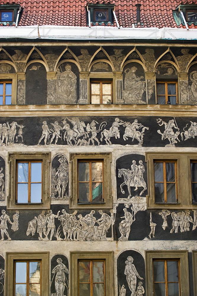 Minute House (childhood home of Franz Kafka) in Prague