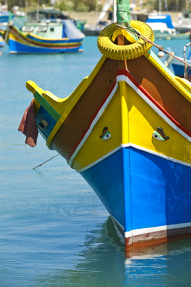 Fishing boats in harbor