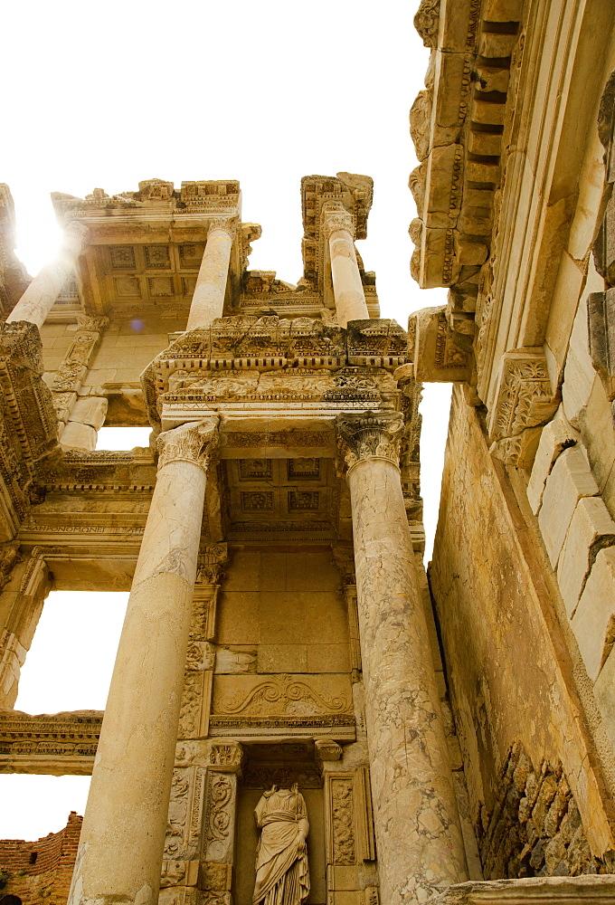 Turkey, Ephesus, ruins of Celsus Library