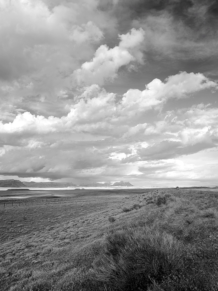USA, Utah, Clouds over landscape