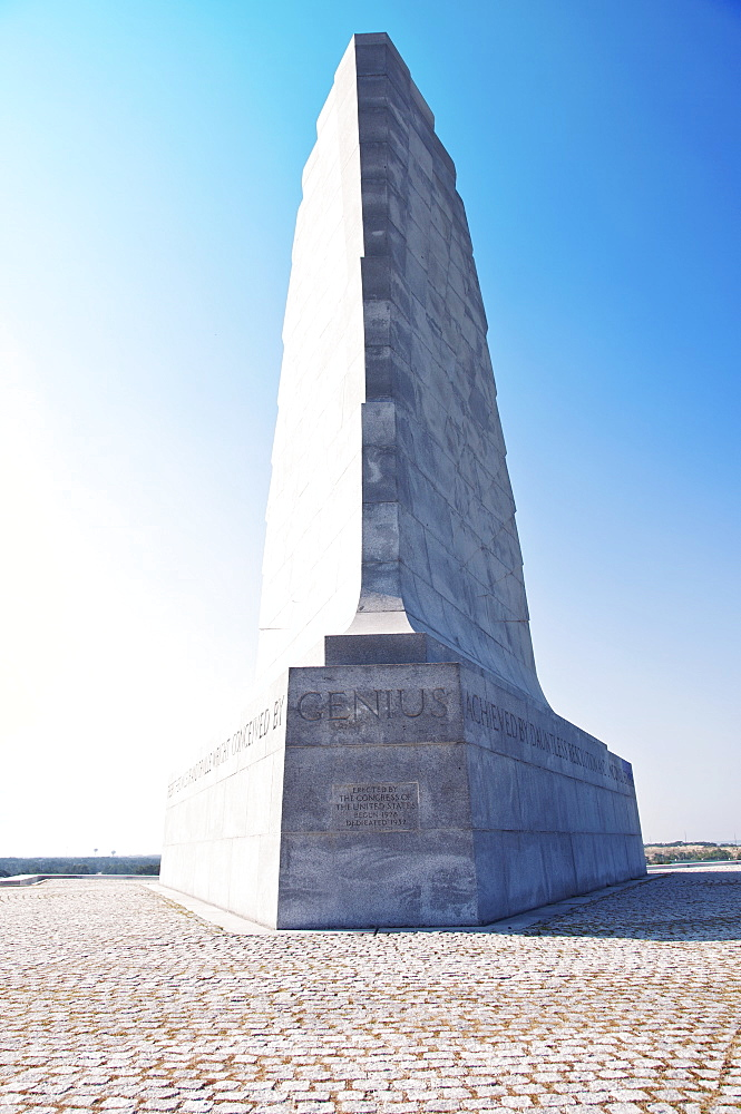 USA, North Carolina, Outer Banks, Kill Devil Hills, Wright Brothers Memorial