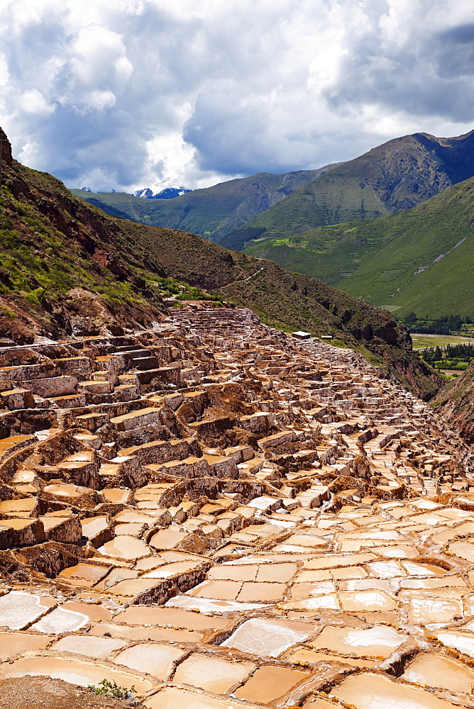 Maras, Salt pools, Peru, Cuzco, Maras