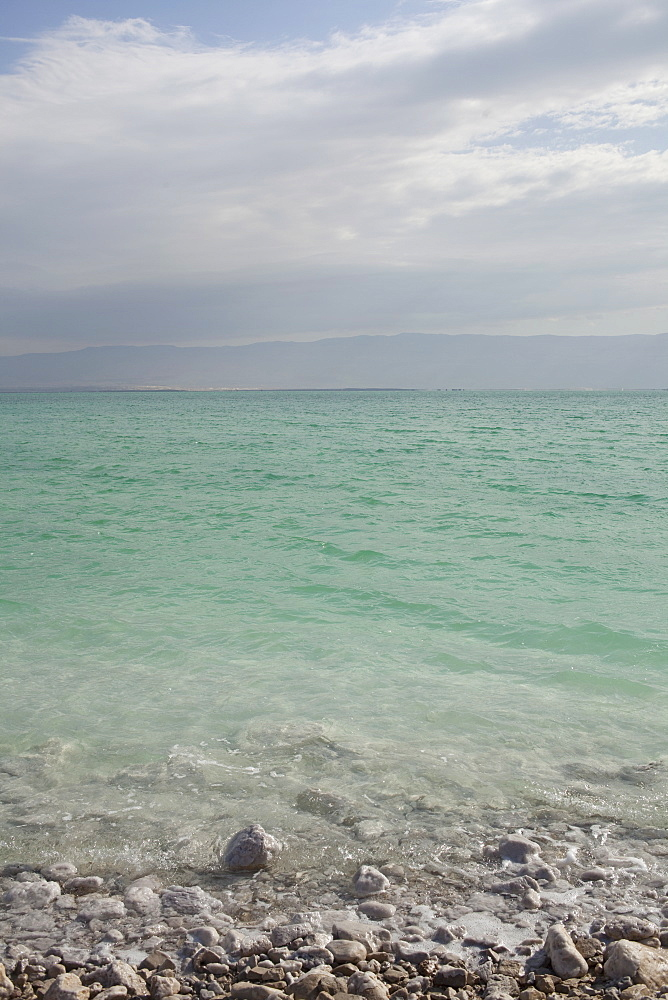 Israel, Dead Sea, seascape