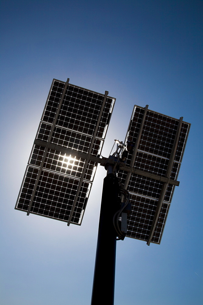 Solar panels against clear sky - 1178-11655
