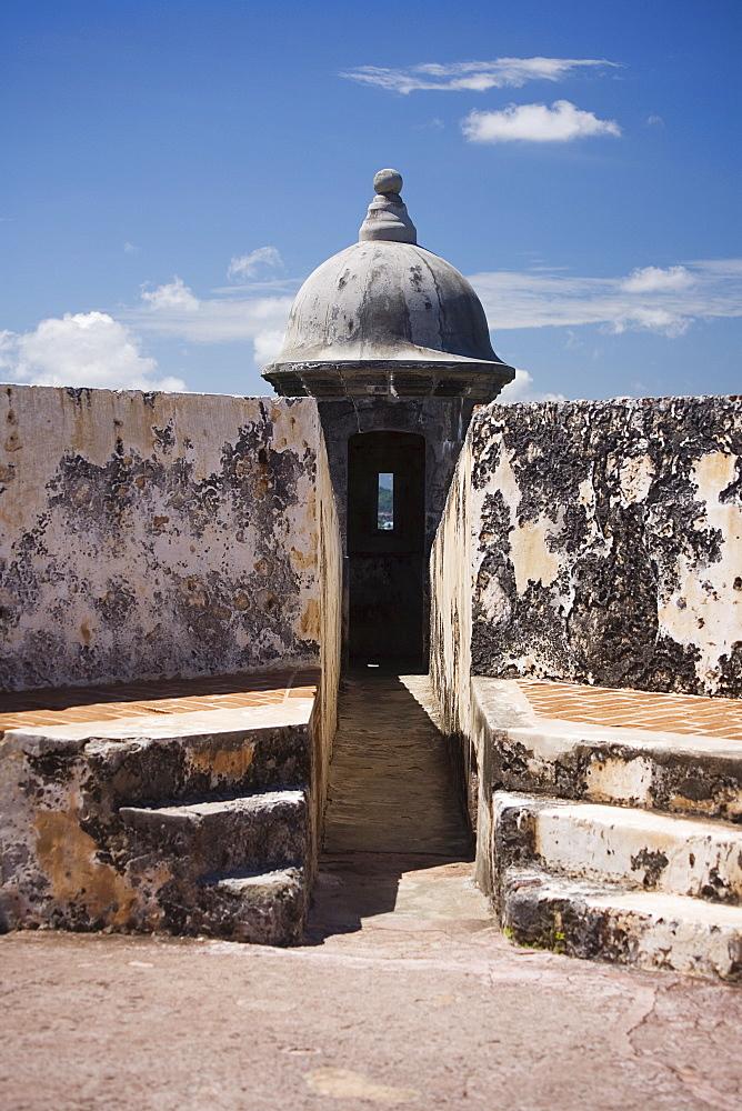 Detail of El Morro San Juan Puerto Rico