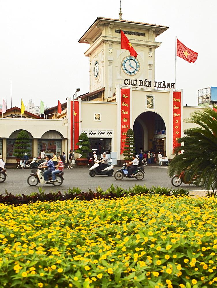 Ben Thanh Market Ho Chi Minh City Saigon Vietnam