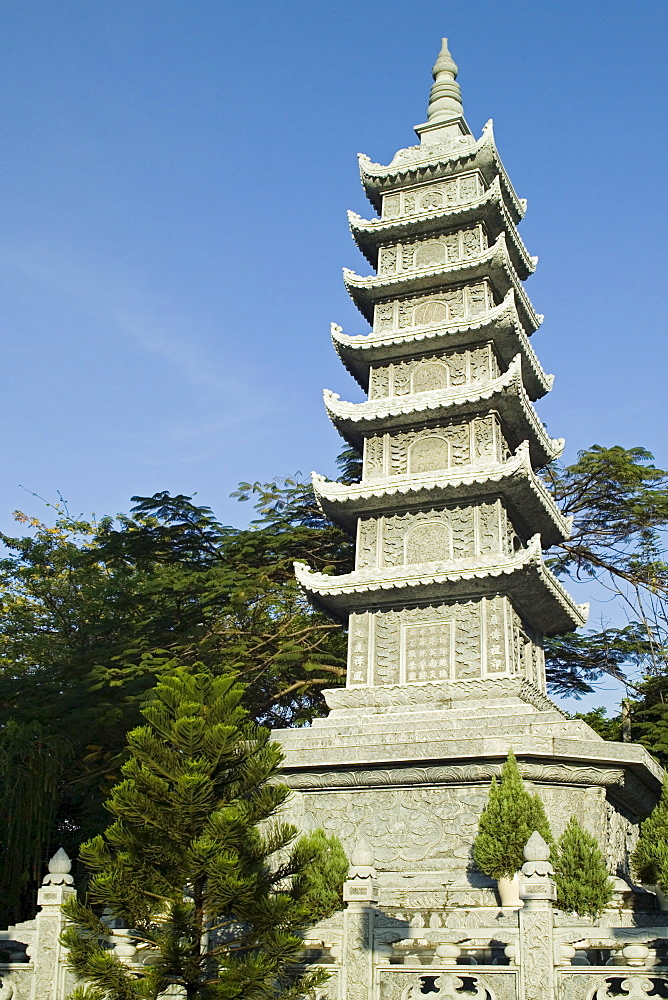 Vinh Nghiem Pagoda Ho Chi Minh City Saigon Vietnam
