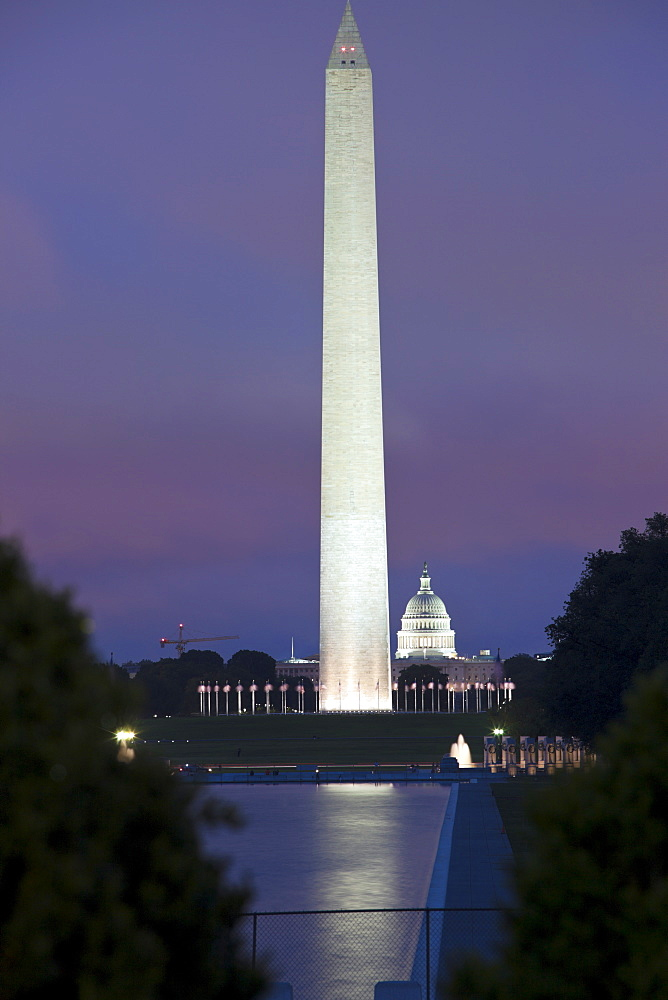 The Capitol and Washington Monument - Washington DC