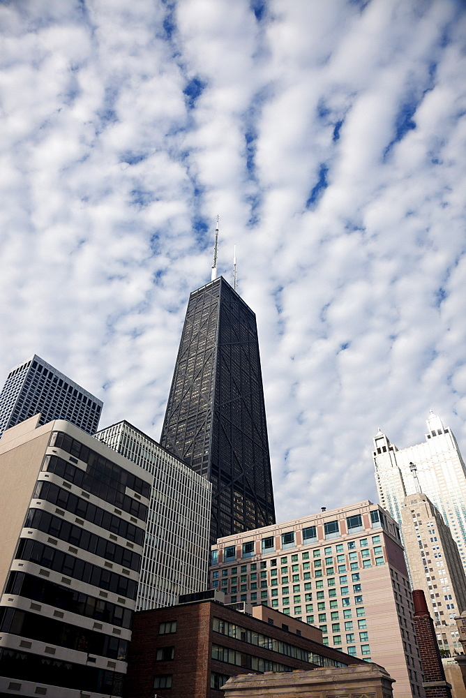 USA, Illinois, Chicago, Hancock Building