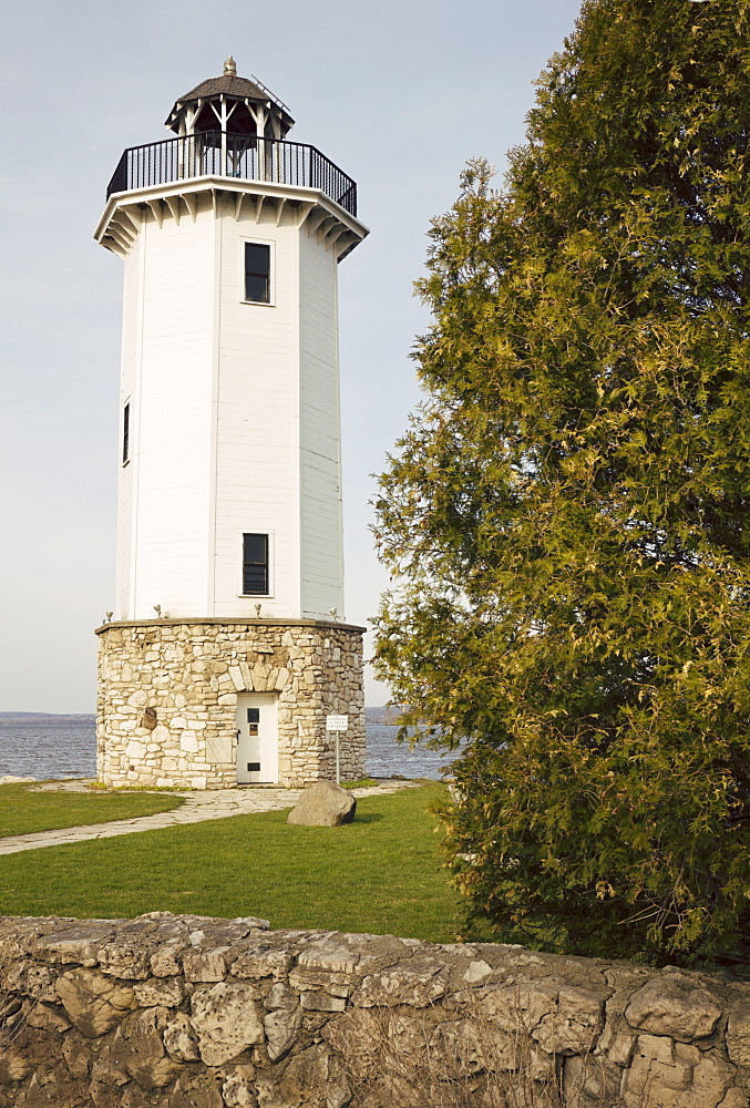 USA, Wisconsin, Fond du Lac, Lighthouse