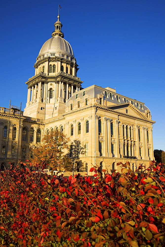 USA, Illinois, Springfield, State Capitol
