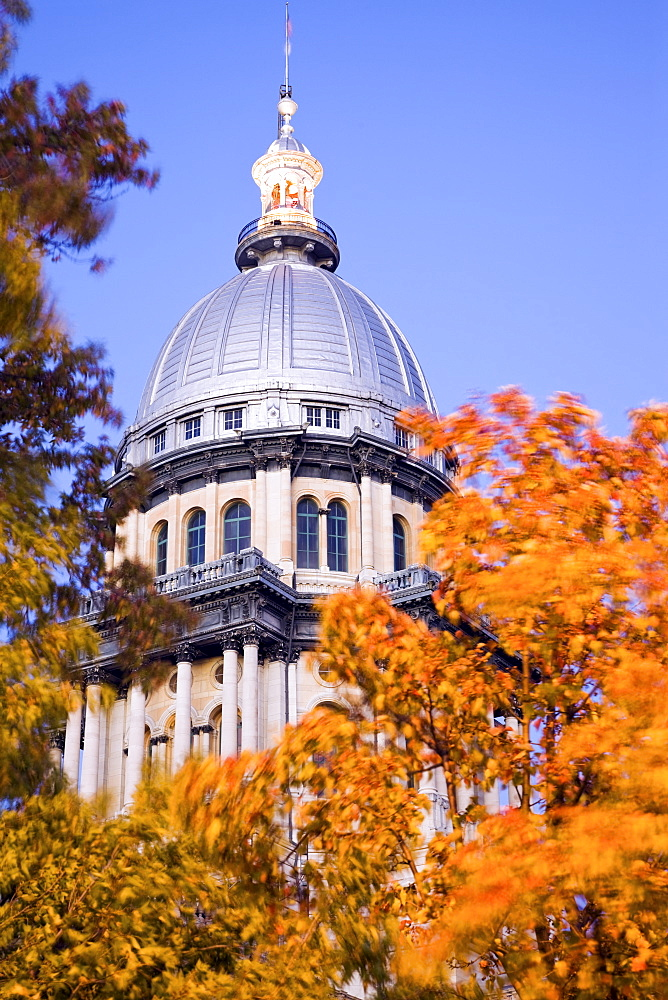 USA, Illinois, Springfield, State Capitol Building