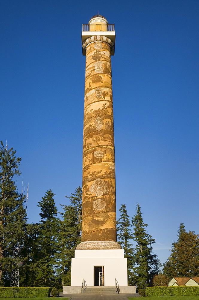 USA, Oregon, Astoria, tower