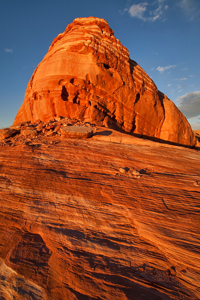 USA, Nevada, Valley of Fire, red rocks