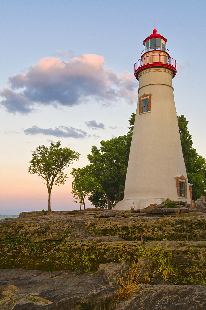 USA, Ohio, Marble Head Lighthouse