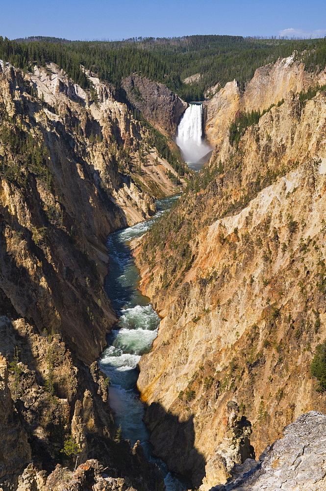 USA, Wyoming, River Yellowstone