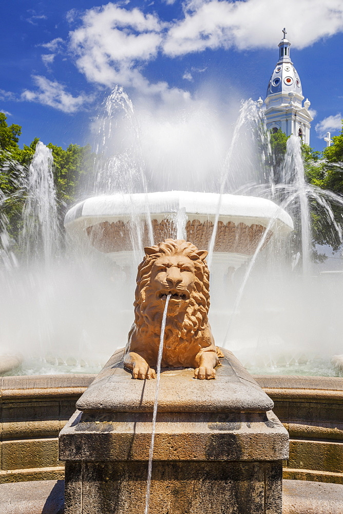 The Fountain of the Lions, Ponce, Puerto Rico