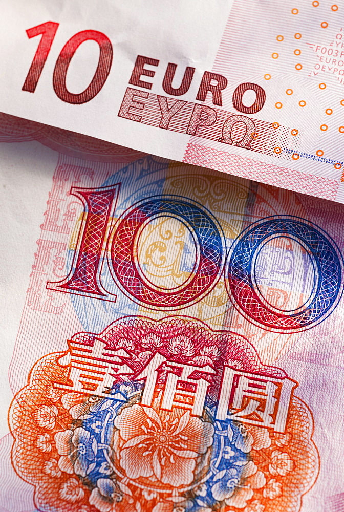 Chinese and European money