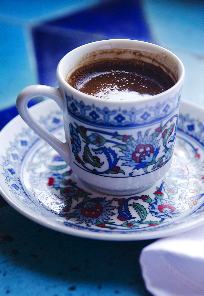 Turkey, Istanbul, Cup of Turkish coffee