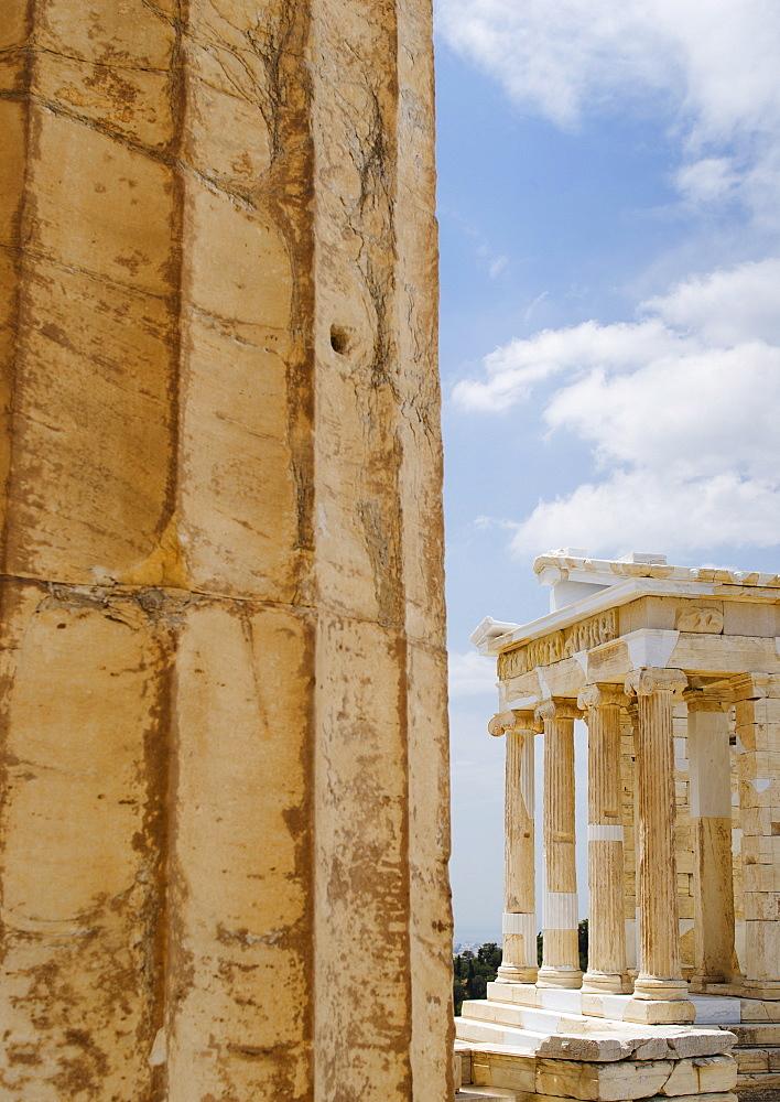 Greece, Athens, Acropolis, Temple of Athena Nike