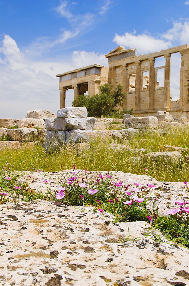 Greece, Athens, Acropolis, Erechtheum