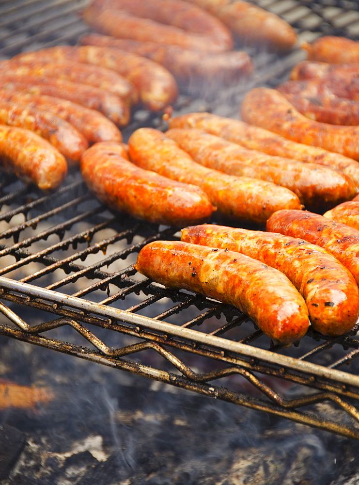 Sausages on barbeque - 1178-15144
