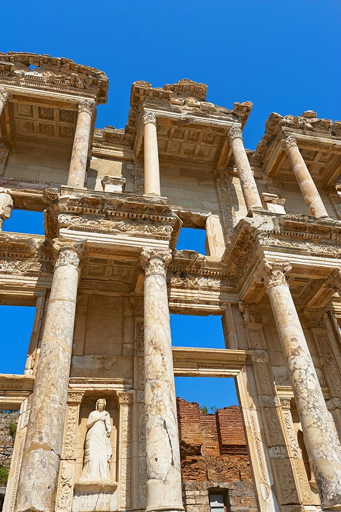 Turkey, Ephesus, Library of Celsus