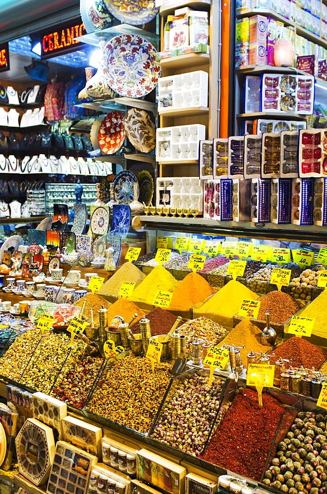 Turkey, Istanbul, Spice market