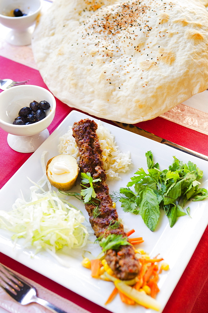 Turkey, Istanbul, Lavash bread