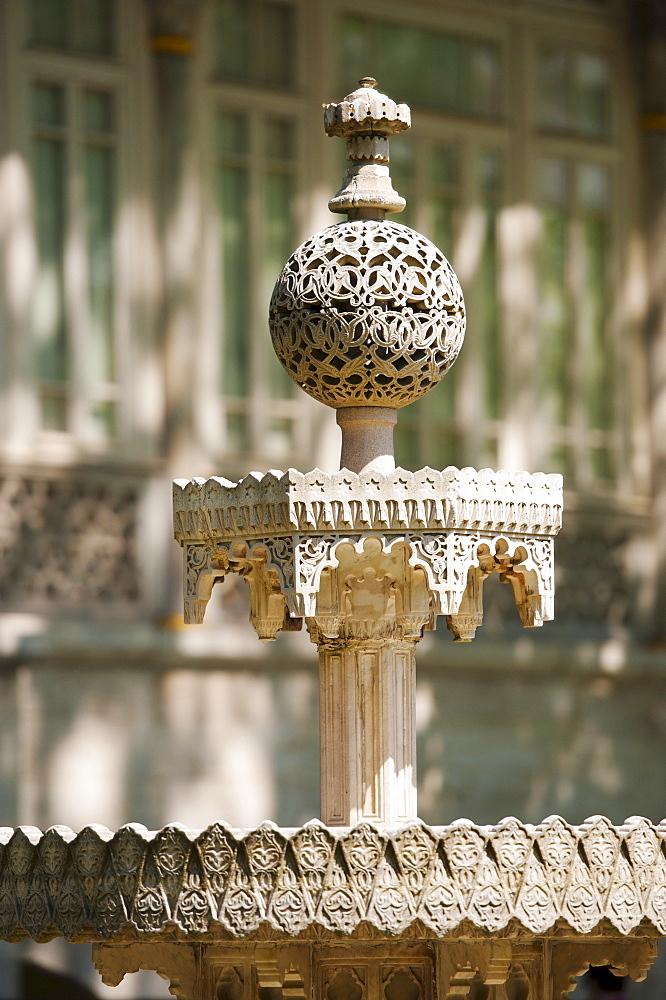 Turkey, Istanbul, Topkapi Palace fountain