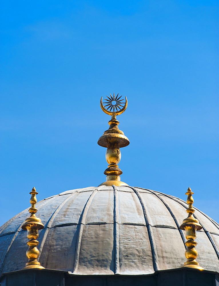 Turkey, Istanbul, Topkapi Palace dome