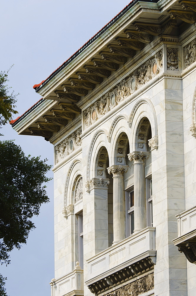 USA, Georgia, Savannah, Close up of Post office in Court House