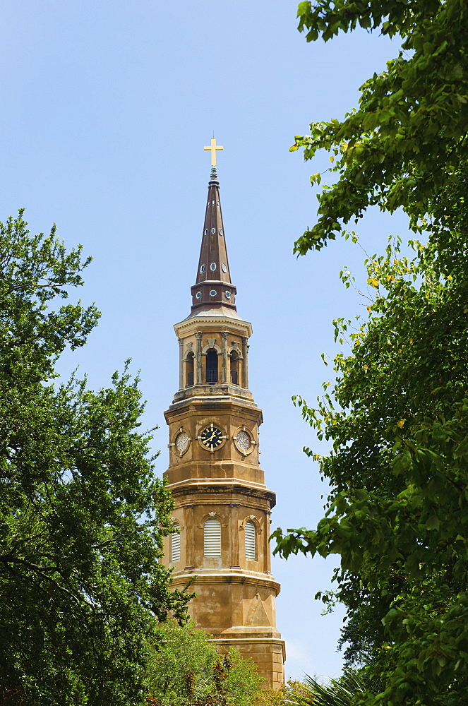USA, South Carolina, Charleston, St. Philip's Church