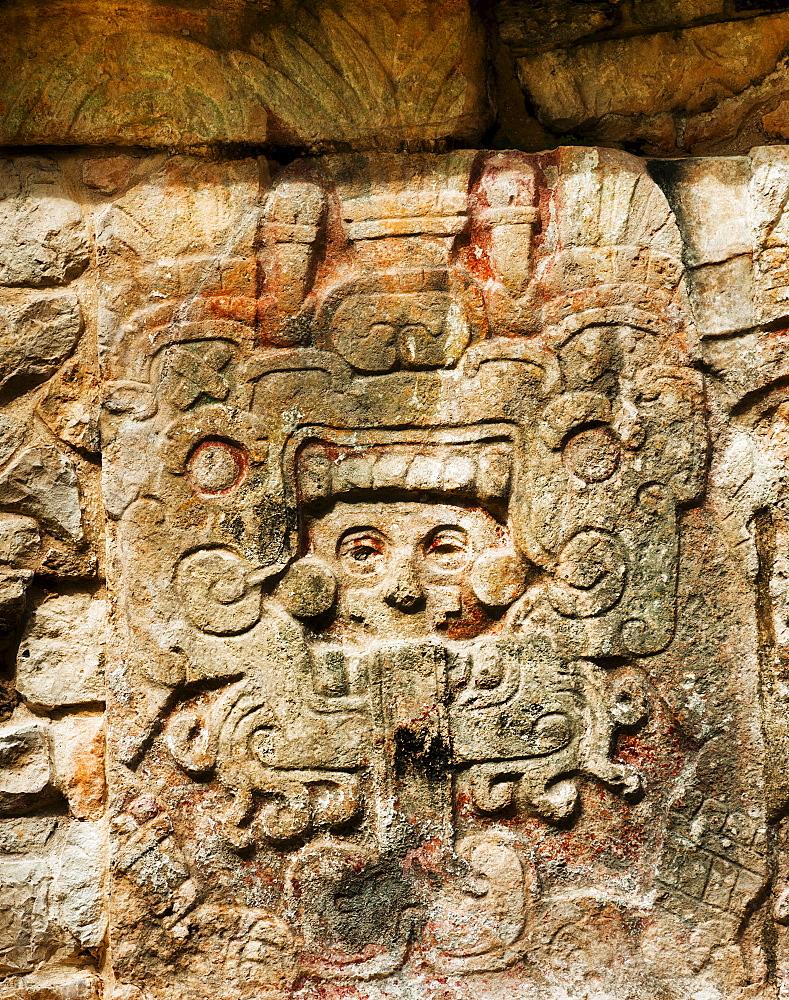 Mayan ruins, Carvings