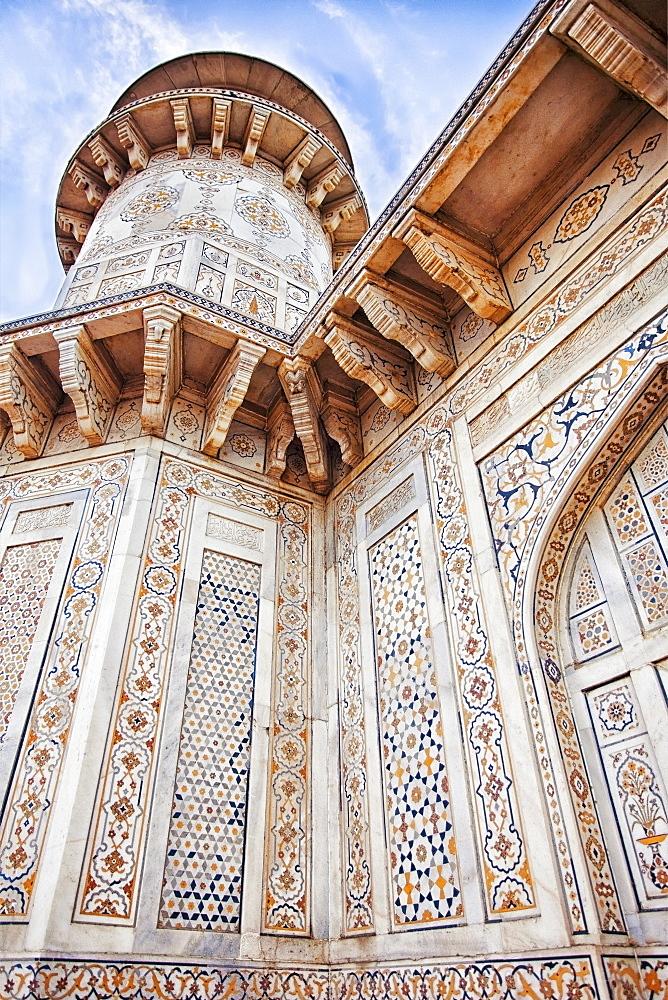 India, Uttar Pradesh, Agra, Itmad-ud-Daula's Tomb or Baby Taj, India, Uttar Pradesh, Agra