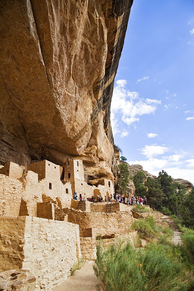 USA, Colorado, Mesa Verde, Mesa Verde National Park, Native American Cliff Dwellings, USA, Colorado, Mesa Verde, Mesa Verde National Park