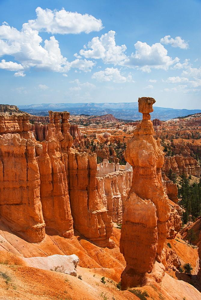 Rock formations, USA, Utah, Bryce Canyon