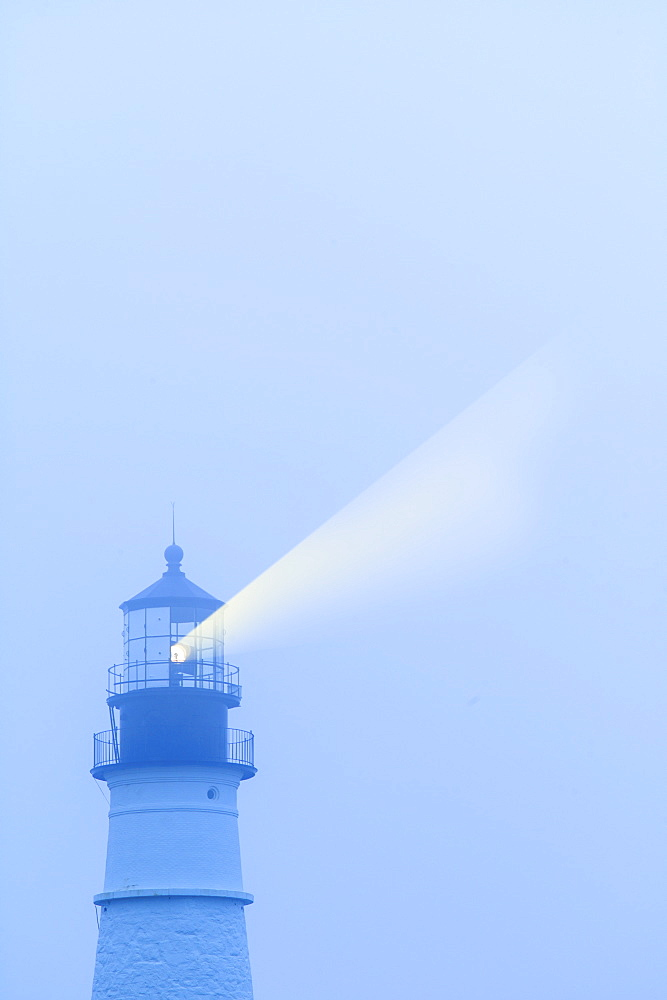 Lightbeam from Portland Head Light, Portland, Maine