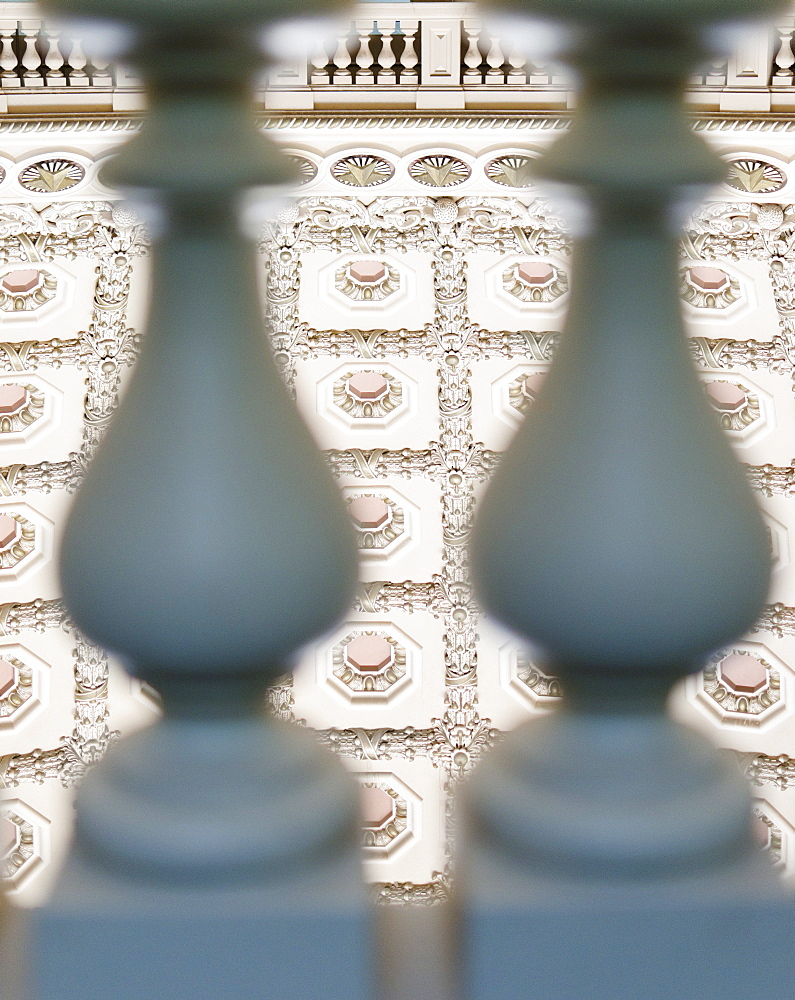USA, Washington DC, Capitol Building, Close up of columns and decor