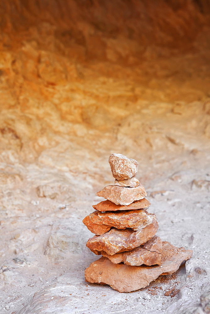 Stack of stones, Bryce Canyon National Park, Utah
