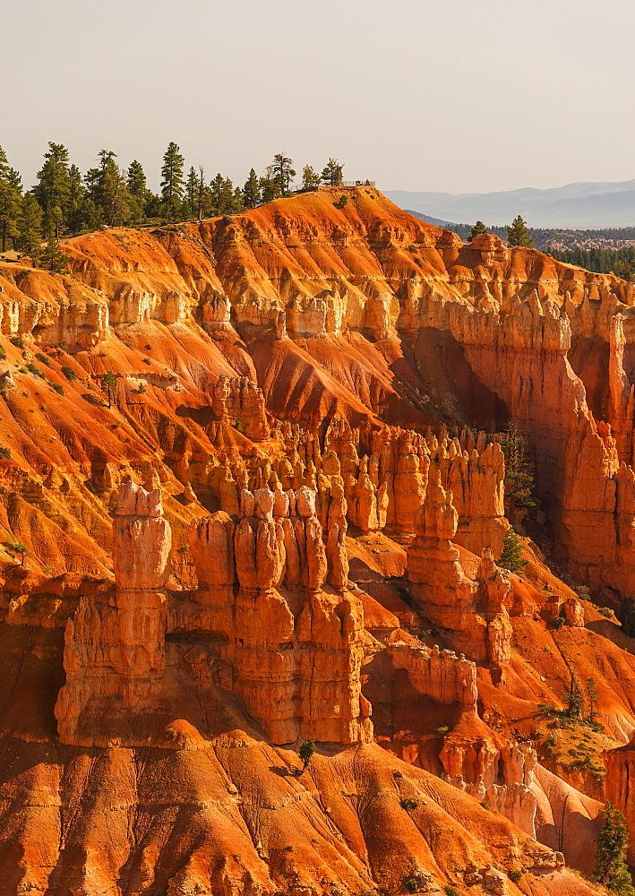 View of rocks, USA, Utah, Bryce Canyon