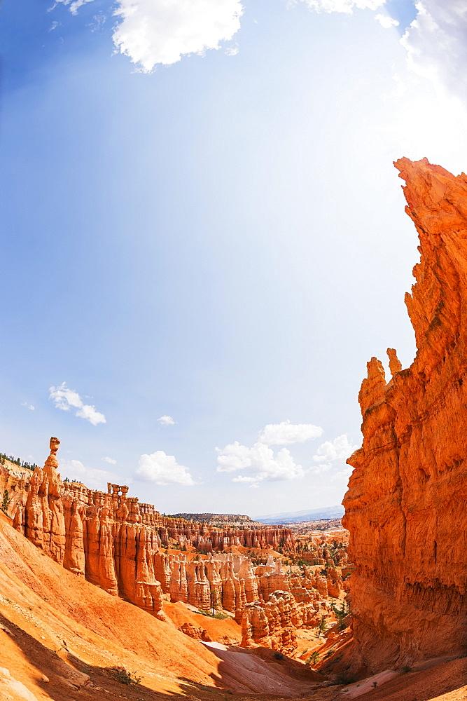 View of Thor's Hammer, USA, Utah, Bryce Canyon
