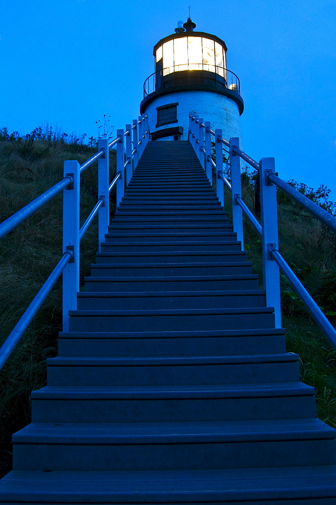 Stairs leading Up to Lighthouse