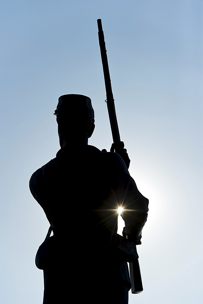 11th Pennsylvania infantry statue